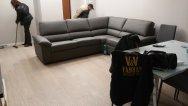 Montaggio dei mobili nuovi